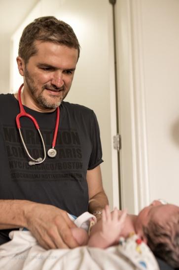 São Paulo, 13 de abril de 2015. Nascimento de Augusto, parto domiciliar.