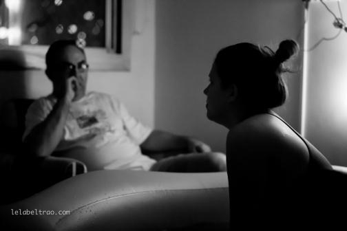 São Paulo, 15 de setembro de 2014: Nascimento de Giulia, parto de Mariana Morini. Fotos: Lela Beltrão.