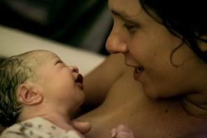 São Paulo, 1 de agosto de 2015. Nascimento do Moreno Mar (as 22h22). Pati Passoni e Sun Vaz.